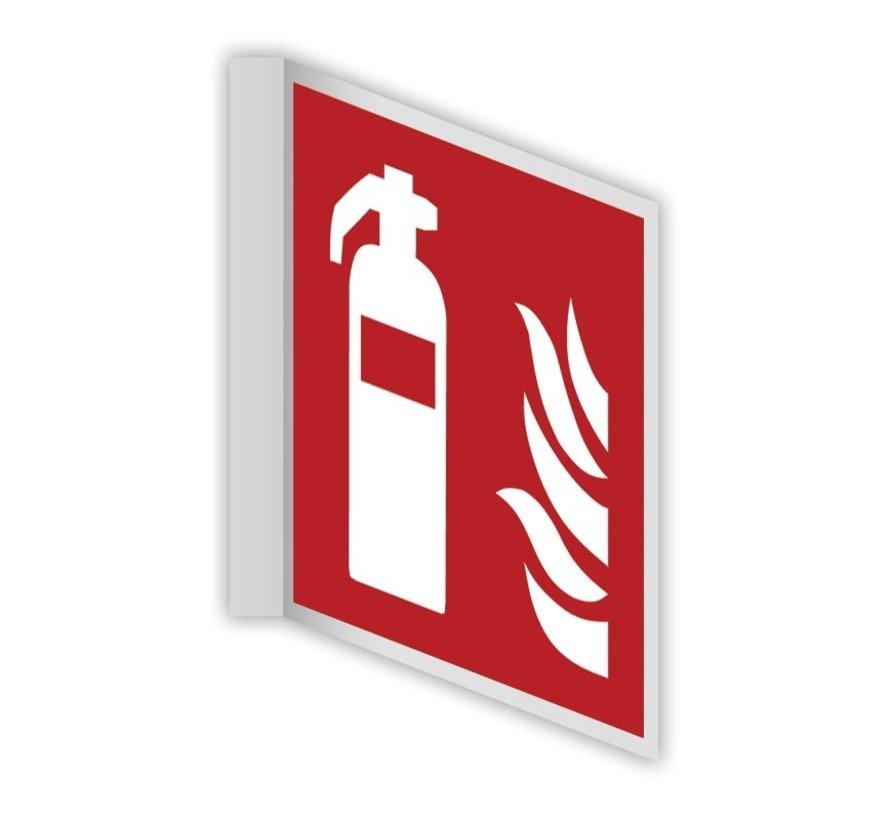 Brandblusser haaks bord
