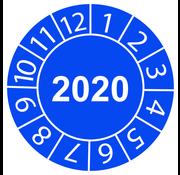 "Keuringssticker ""2020 algemeen"""
