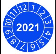 "Keuringssticker ""2021 algemeen"""