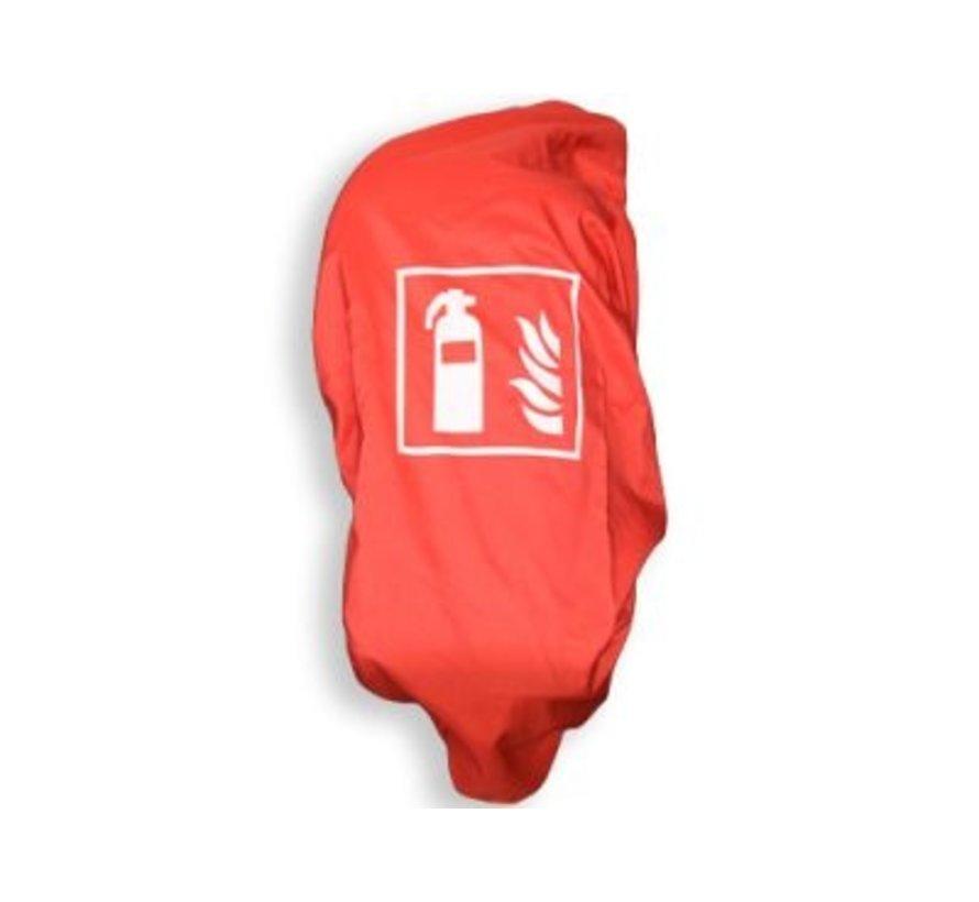 Beschermhoes brandblusser 6/12 kg rood