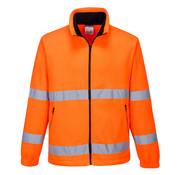 Veiligheidsjas fleece oranje