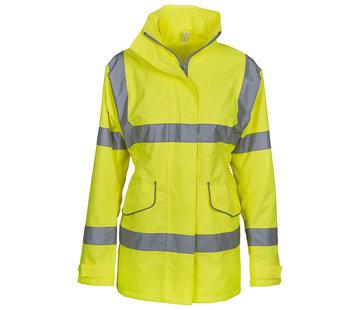 Veiligheidsjas dames, geel