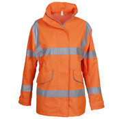 Veiligheidsjas dames, oranje
