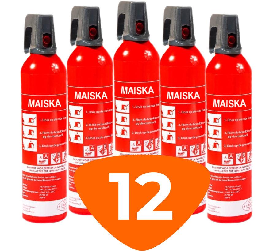 Sprayblusser 0,75L 12 stuks - MAISKA