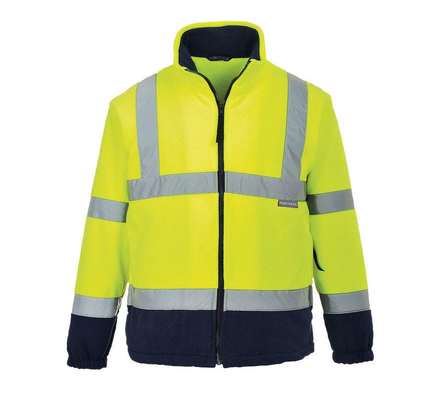 RWS reflecterend vest fleece geel (Veiligheidsvest)