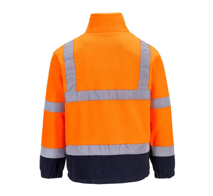 RWS vest fleece oranje (veiligheidsvest)