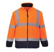 Veiligheidsvest fleece oranje
