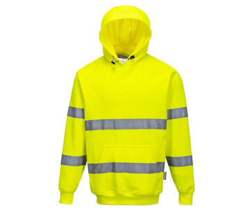 Veiligheidshoodie geel