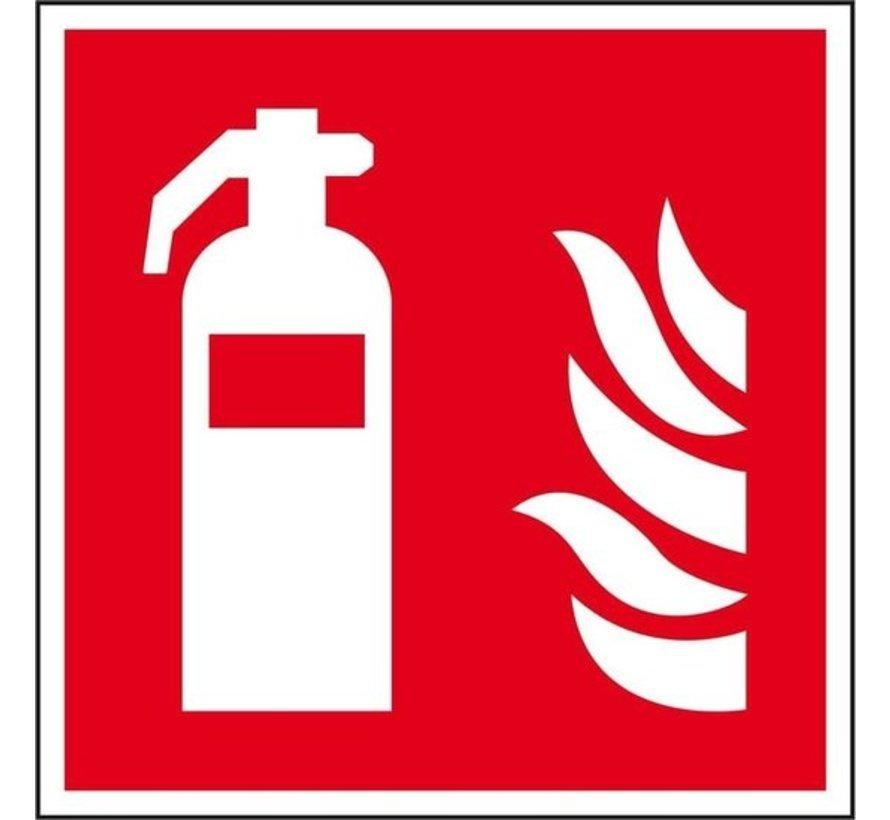 Brandblusser pictogram