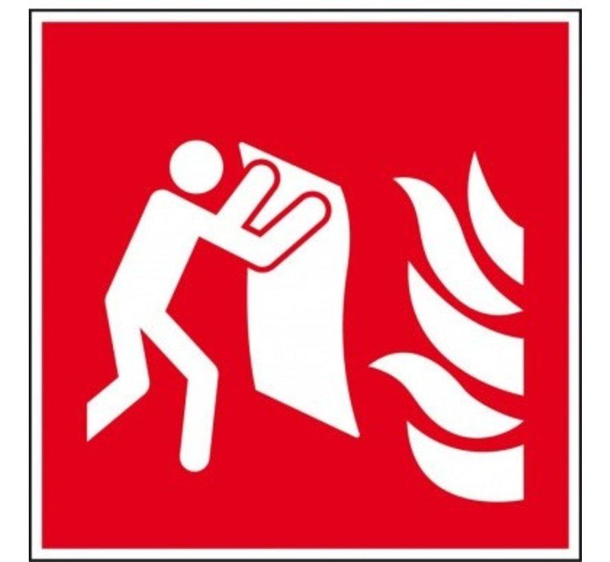 Branddeken pictogram
