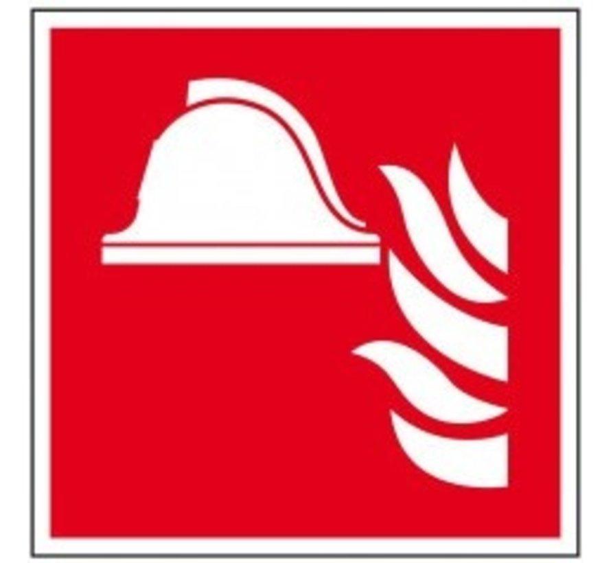 Brandbestrijdingsmiddelen pictogram