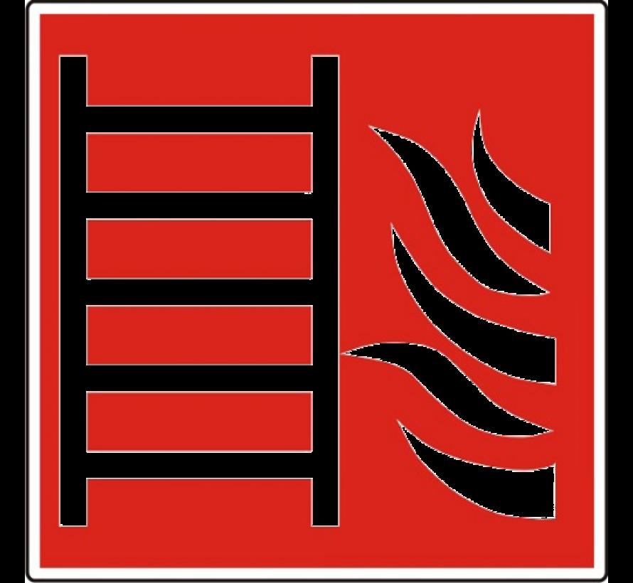 Brandladder pictogram