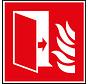 Brandwerende deur pictogram