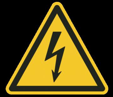 Gevaar elektrische spanning