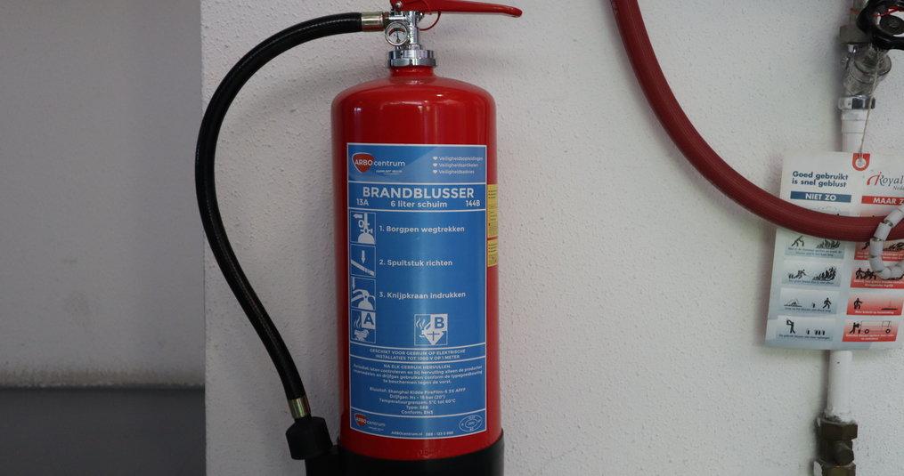 Hoe oud is mijn brandblusser?