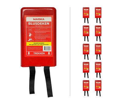 MAISKA 10-pack hardcase Blusdeken MAISKA 180 x180 cm