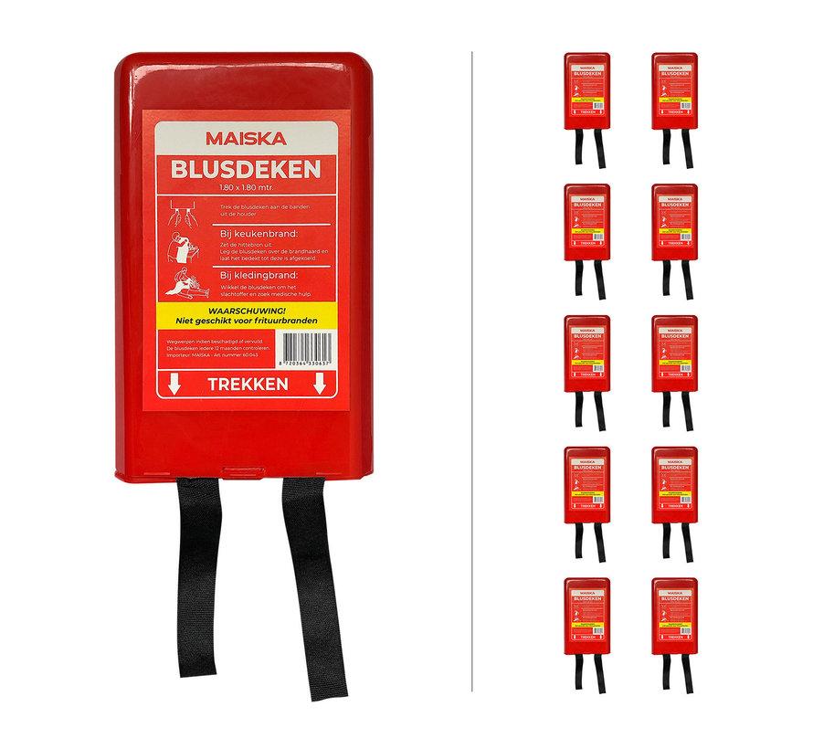 10-pack hardcase Blusdeken MAISKA 180 x180 cm