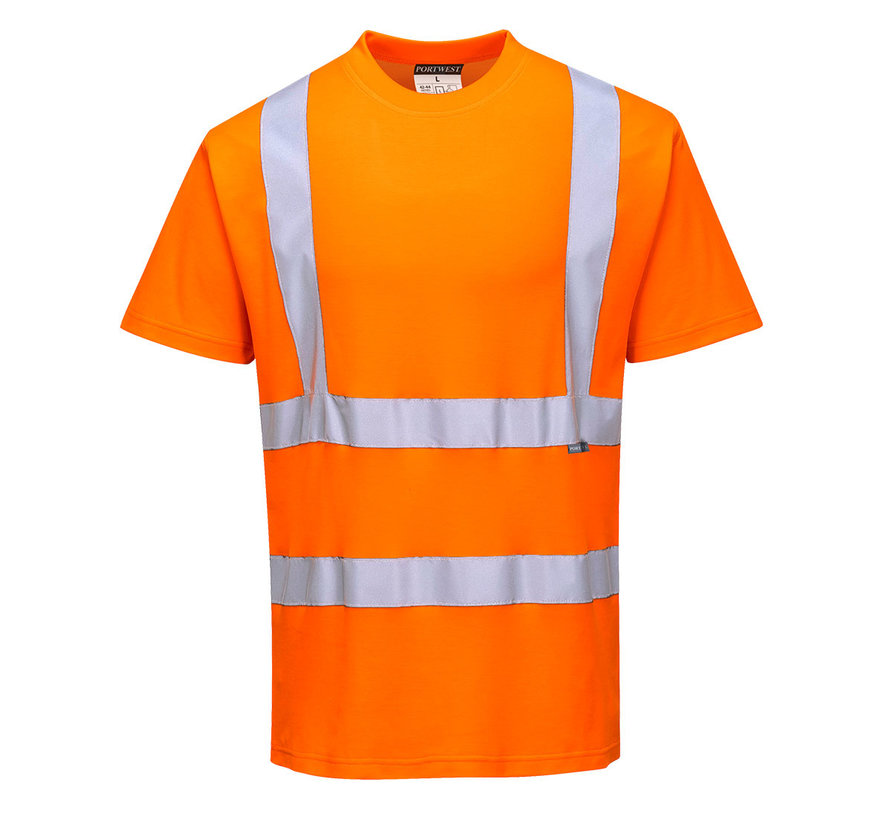 Veiligheids t-shirt oranje