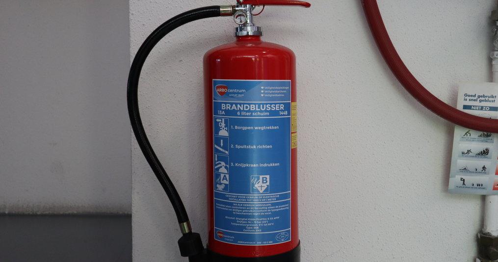 Brandblusser aanschaffen?