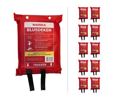 MAISKA 10-pack softbag Blusdeken MAISKA 180 x180 cm