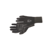Safe Worker Safe Worker Nylonflex handschoenen zwart PU coating