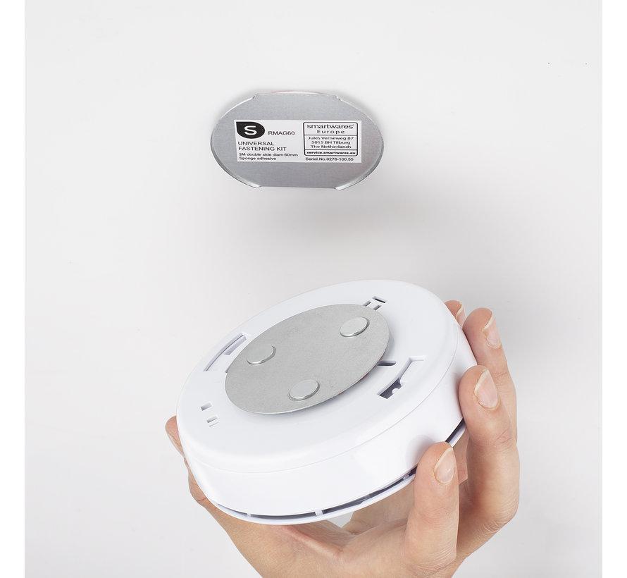 2-pack rookmelder Smartwares PD-8829  met bevestigingskits