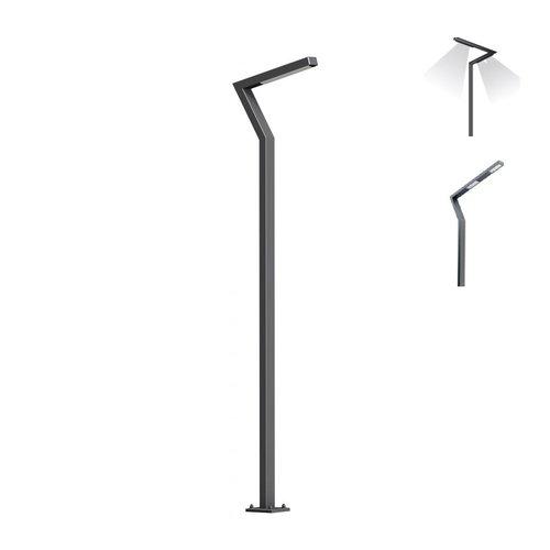 Olest  Eleway-3, lengte 6m met 3 lichtpunten aan 2 kanten, 3 x 30W, 10200 lumen
