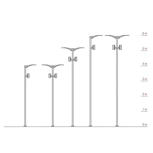 Olest  Pegaway-2, lengte 4m, 2 x 50W, 8600 lumen