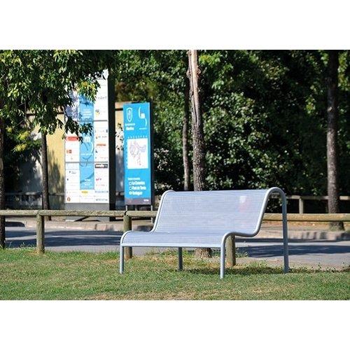Olest-Novatilu  Parkbank Troke met leuning