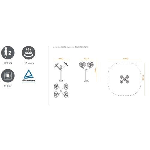 Olest-Novatilu Outdoor fitnesstoestel ARM