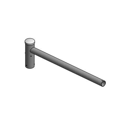 Olest Enkele uithouder, voor mast 60/76mm, lengte uithouder 1000mm, topmaat 60 mm