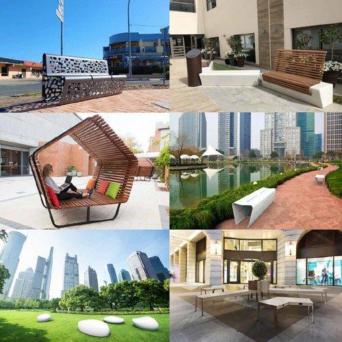 Design park-buitenbanken The Italian Lab (op aanvraag)