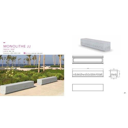 Olest-The Italian Lab Parkbank Monolithe JJ Flat