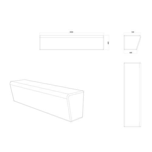 Olest-The Italian Lab Parkbank Monolithe
