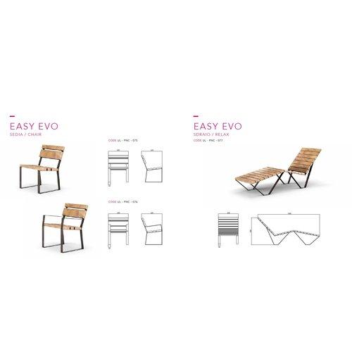 Olest-The Italian Lab Parkbank Easy Evo Stoel