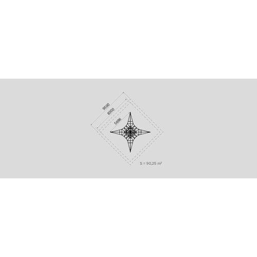 Olest-Novatilu Klimnet Speeltoestel Piramid4 PRI4
