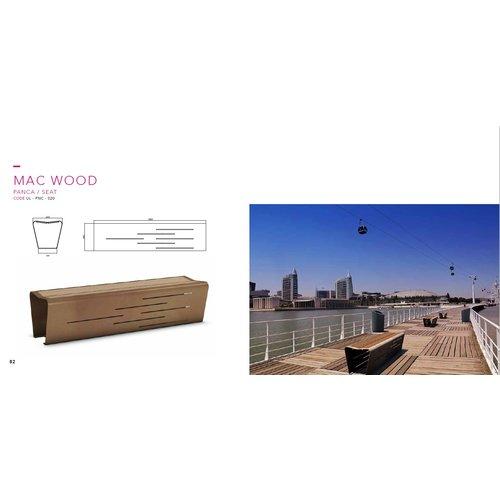 Olest-The Italian Lab Parkbank seat Mac Wood