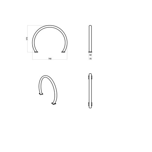 Olest-The Italian Lab Fietsenrek Ring