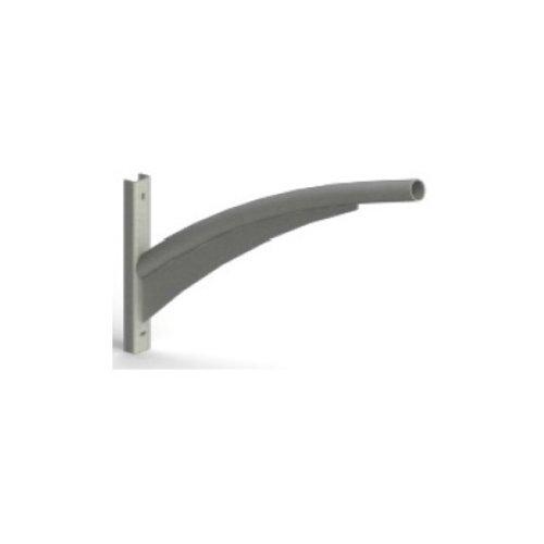 Olest Verzinkte wand uithouder/muursteun, model 3, lengte uithouder 1000 of 1500mm, topmaat 60 mm