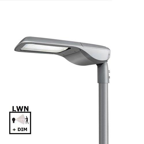 Olest Delia-S 18W LED straatverlichting, 2200 lumen met bewegingssensor on/off of on/DIM(corridor functie) en lichtsensor