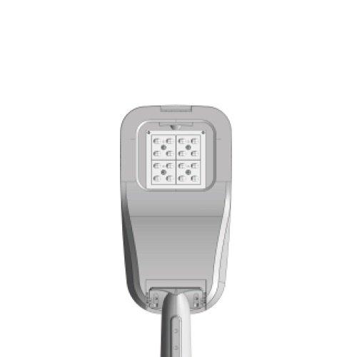 Olest Delia-S 27W LED straatverlichting, 3100 lumen