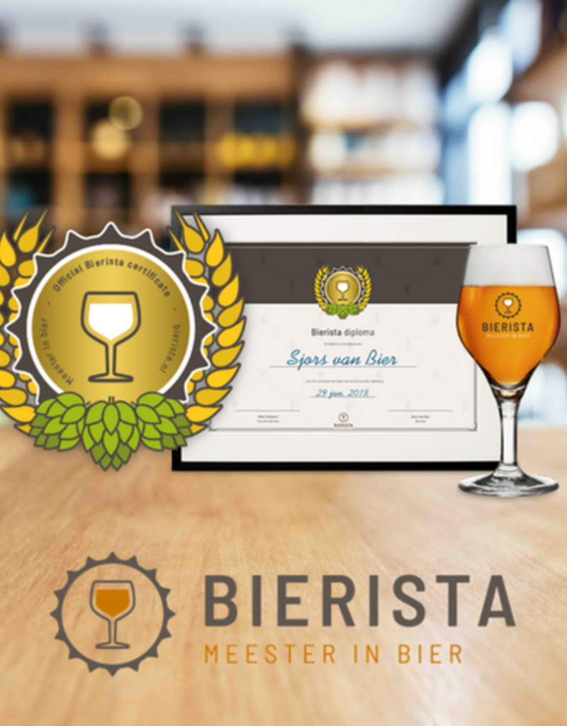 Bieropleiding Join now for the Beer Training of Bierista!