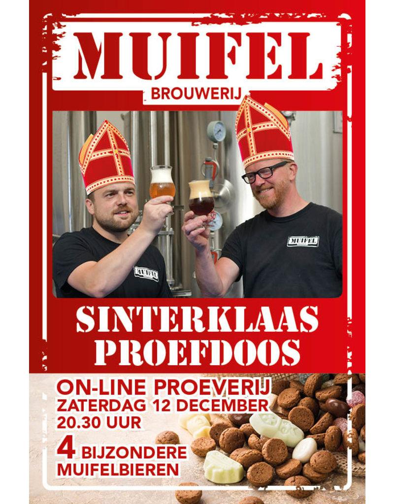 Cadeaupakket Muifel Sinterklaas Sample Package with glass