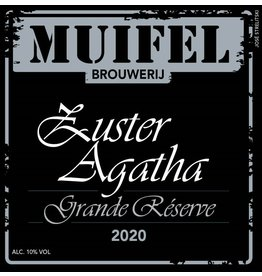 Quadrupel Zuster Agatha Grand Reserve 2020 33cl