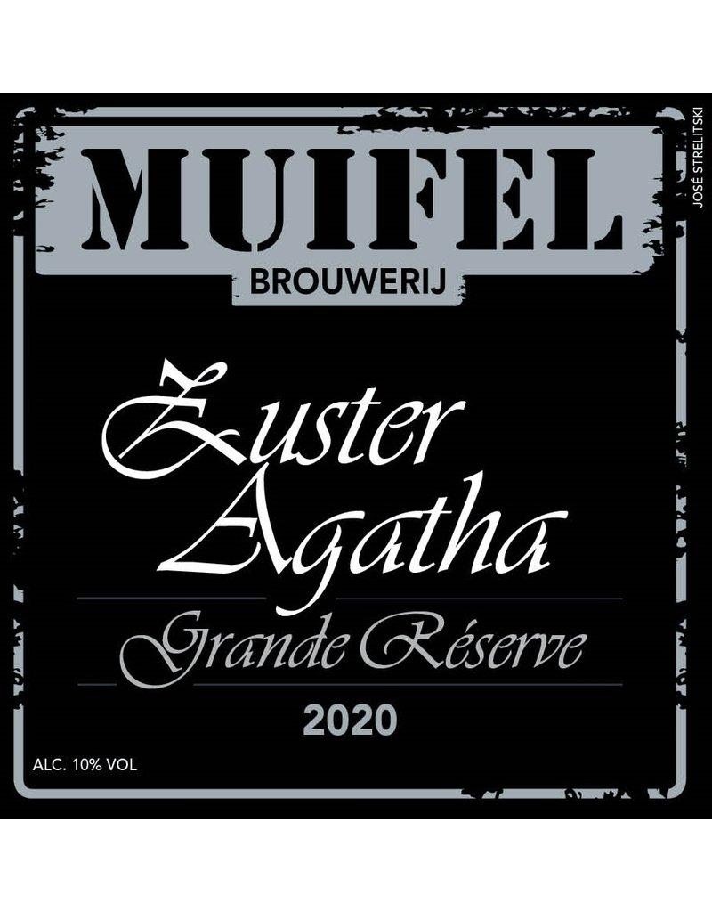 Quadrupel Zuster Agatha Grand Reserve 2020 33cl