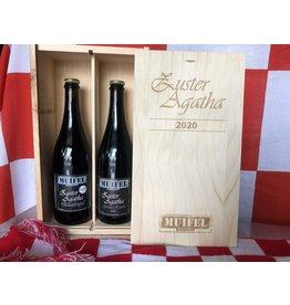 Quadrupel Zuster Agatha Grand Reserve 2020 inclusief kist
