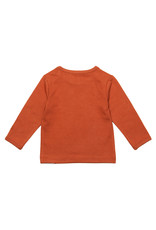 Noppies Noppies longsleeve hester text spicy ginger