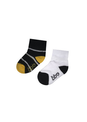 Beebielove Beebielove newborn sokken streep