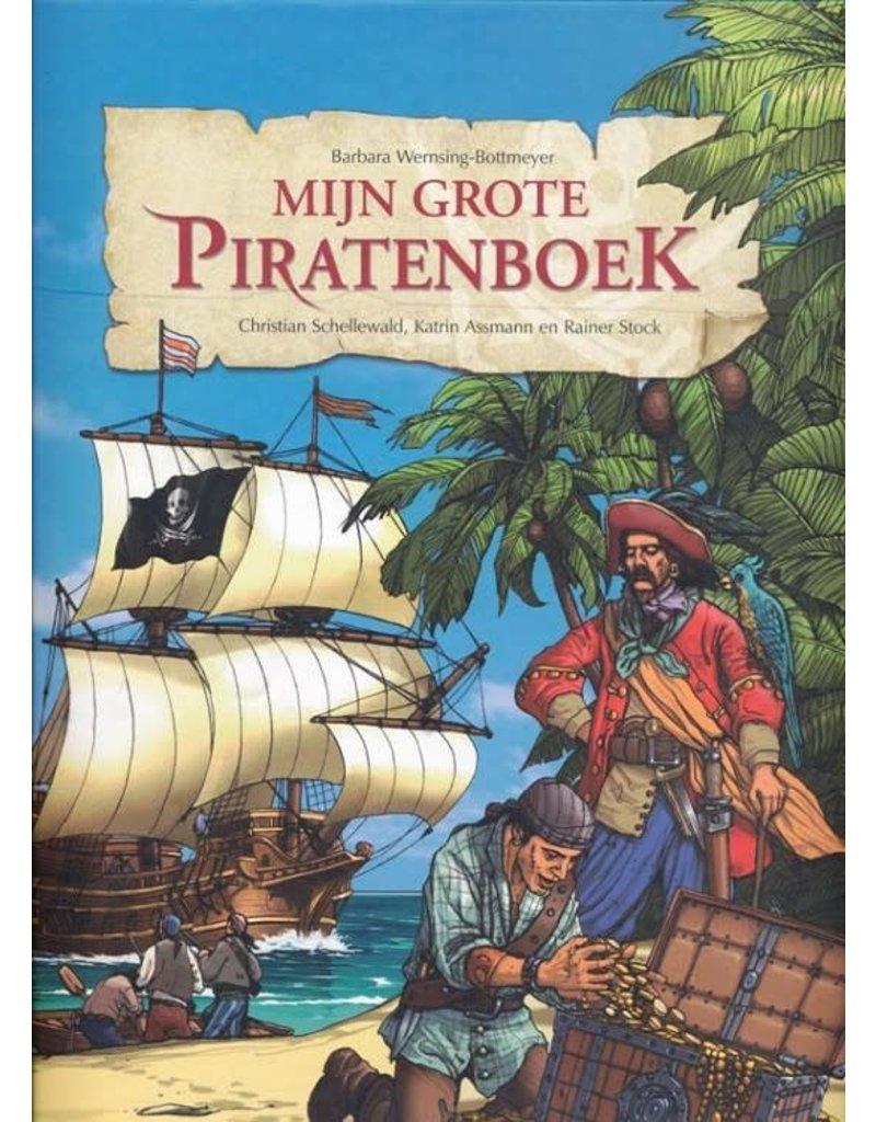 Mijn grote piratenboek ( met vlag en ooglap)