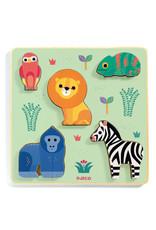 Djeco Djeco houten puzzel safari dj01058